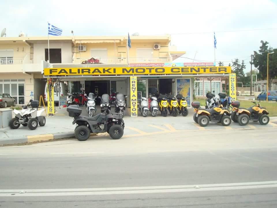 Rhodes rent a moto